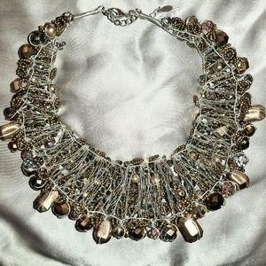 Aldo Jewelry - Aldo Harmonie Beaded Collar Necklace.